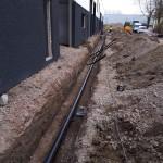 PE nutsleidingen gas-, water- en brandwaterleidingen